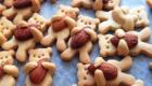 Biscoitos de amêndoas.