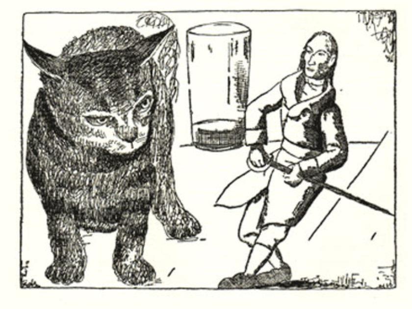 Brobdingnagian Cat